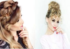 Amazing hairstyle by gilmakeup Cool Hairstyles, Amazing, Tips, Fancy Hairstyles, Counseling