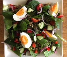 always add a small portion of protein with each meal to stimulate your metabolism, ideal for weight loss and muscle gain.