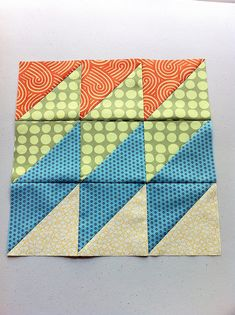 awesome modern quilt block