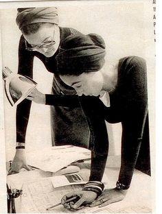 MICA ERTEGUN AND CHESSY RAYNOT