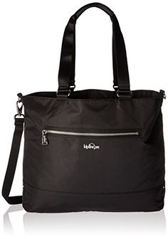 Kipling Binx Solid Tote Black -- Read more at the image link. (This is an affiliate link)