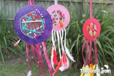 Paper Dream Catchers - easy and fun craft for kids