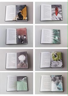 Re-designed Harry Potter books!