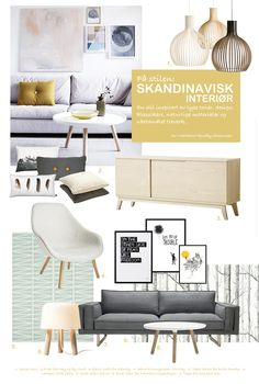 Design board for living room: scandinavian design Mood Board Interior, Interior Design Boards, Interior Design Inspiration, Design Ideas, Scandinavian Style Home, Scandinavian Interior Design, Scandinavian Furniture, Scandinavian Living, Bedroom Furniture Design