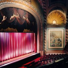 Palace Theatre, Los Angeles. Designed in 1911 by G. Albert Lansburg as home to the famed Orpheum vaudeville circuit, it was renamed the Pala...