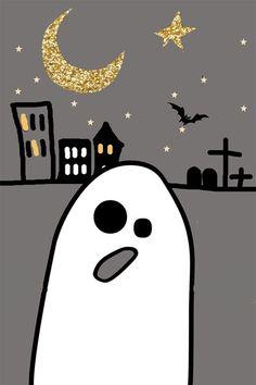 fond ecran iphone 4 halloween