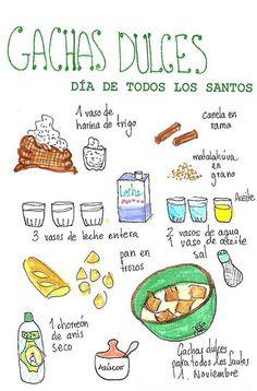 Gachas dulces Ubeda | por GastroAndalusi