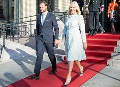 Royal Family of Norway attended unveiling ceremony at Stortinget
