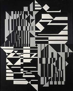 Victor Vasarely / Taïmyr / 1958