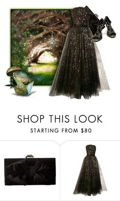 """In The Woods"" by the-house-of-kasin ❤ liked on Polyvore featuring Jessica McClintock, Christian Dior and gownsgalore"