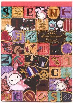cute Sentimental Circus Memo Pad from San-X