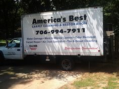 Our company truck, it has the best equipment to get the job done right everytime!