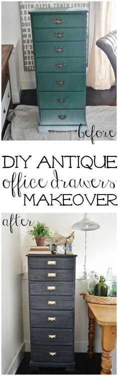DIY antique office d