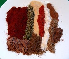 Make and share this My Special Chili Powder recipe from Genius Kitchen. Homemade Spice Blends, Homemade Spices, Homemade Seasonings, Spice Mixes, Chili Seasoning, Seasoning Mixes, Seasoning Recipe, Olive Garden Recipes, Homemade Chili