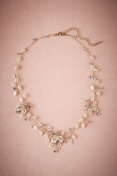 Fiora Necklace from @BHLDN