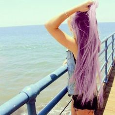 in another life I would love to be a lovely lavender blonde <3