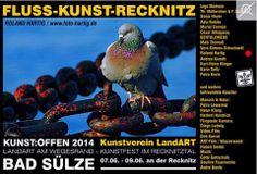 Kunst Offen 2014 | Kunst Offen – Fluss – Kunst -Recknitz – Roland Hartig