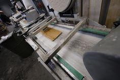 Productie houten vloer