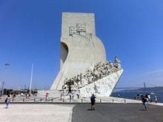 Vasco da Gama, the famous Portuguese explorer and navigator set off from Belem Portugal in 1497 looking for trade routes to the East. Check out our detailed city guide! Belem Portugal, Custard Tart, Lisbon, Portuguese, Mount Rushmore, Explore, Mountains, World, City