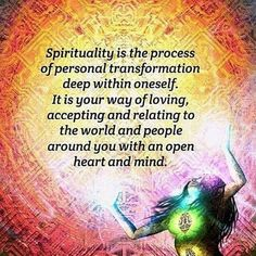Accept all that is With Love in your Heart and your Openness in being a Spiritual Being shines Vibrantly on all. <3 -Mary Long-