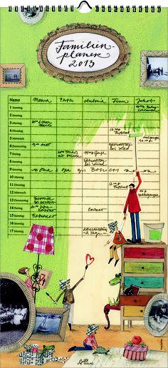 Calendario familiar 2013