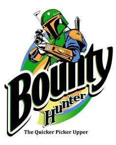 """""""Bounty Hunter: The Quicker Picker Upper"""" by Kevin Liell"""