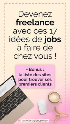 17 idées de travail à domicile