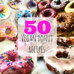 50 Vegan Donut Recipes | The Friendly Fig