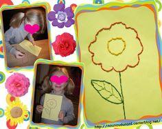 La fleur en broderie de Lison