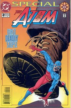 Atom Special 2, 1995, cover by Brian Bolland.
