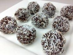 CHOCOLATE RUM BALLS - Christmas Recipe