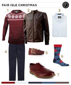 Colton Haynes' Fair Isle Fashion