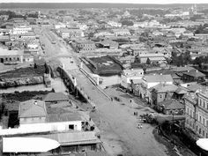 Malysheva street in 19th century