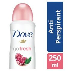 £2 - Dove Go Fresh Pomegranate Aerosol Anti-Perspirant Deodorant
