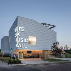 Schaum/Shieh has used steel, concrete and wood to create a live music venue in Houston, Texas that can handle large crowds and rowdy performances.