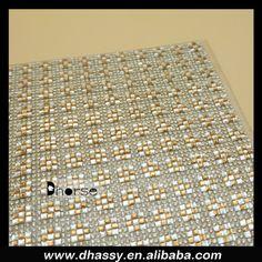 Fashion luxury crystal rhinestone net mesh hot-fix, rhinestone mesh roll DHRM1525, View luxury crystal rhinestone net mesh, Dhorse Product Details from Guangzhou Dhorse Garment Accessory Firm on Alibaba.com