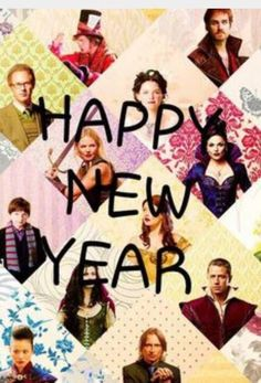 The awesome cast of Once in awesome art #HappyNewYear (2016)