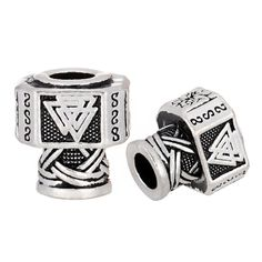 Jewelry & Accessories 2019 Latest Design Langhong 2pcs Star Of David Beads For Bracelet Diy Celtics Beads For Beard Mens Beads Beads