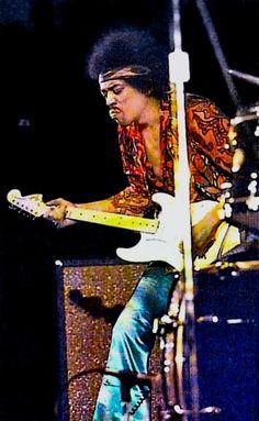 Jimi Hendrix- Great pic!