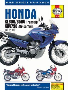 Haynes M3919 Repair Manual for Honda XL600 / XL650V / XVR750 / XL600V / XL650V / XRV750