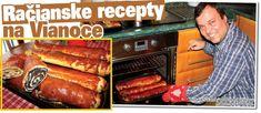 Upečte si voňavý makovník a orechovník podľa starého račianskeho receptu (+foto) | Račiansky spolok Hot Dog Buns, Hot Dogs, Croissant Bread, Russian Recipes, Sausage, Baking, Ethnic Recipes, Ds, Polish
