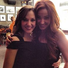 Sierra Boggess and Laura Osnes