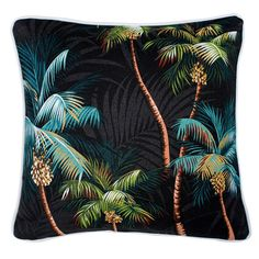 Four cushions of design on front and plain fabric on the back.  When we buy…