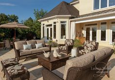 Relax, entertain and enjoy your outdoor lifestyle #interiordesign #decor