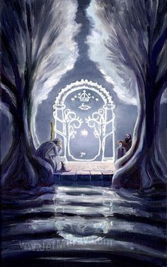 Blogging on my website about The Fellowship of the Ring: A Journey in the Dark