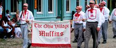 The first vintage base ball team in the nation: The Ohio Village Muffins   ohiohistory.org