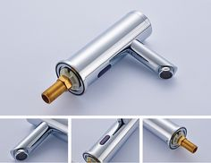 Touchless Water Tap Bathroom Mixer Chrome Polished Cold Automatic Sensor Faucet - Buy Water Tap,Touchless Water Tap,Chrome Polished Cold Automatic Sensor Faucet Product on Alibaba.com