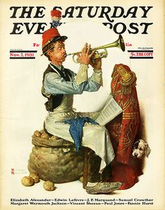 1931 ... 'The Trumpet Player- Norman Rockwell