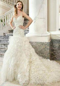 Wonderful wending dress!I want it!!