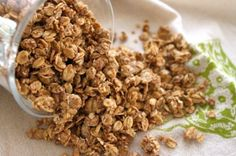 This granola looks so yummy! I probably wouldn't bother to make it gluten-free, but I love that you can.